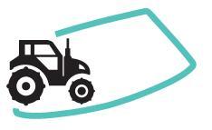 Réparation de pare-brise Engin agricole