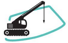 Réparation de pare-brise Travaux publiques